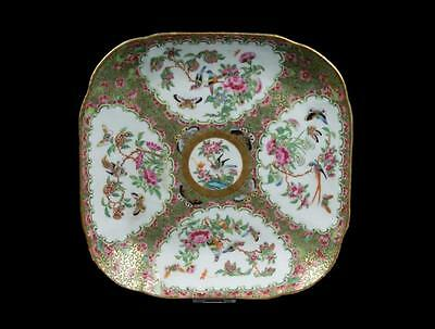 China 19. Jh. Teller -A Chinese Famille Rose Porcelain Plate Chinois Cinese Qing