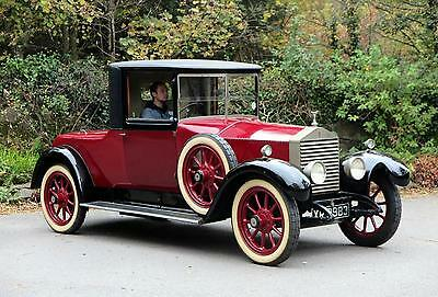 1924 Rolls-Royce 20hp Fixed Head Coupe + Dickey GH27