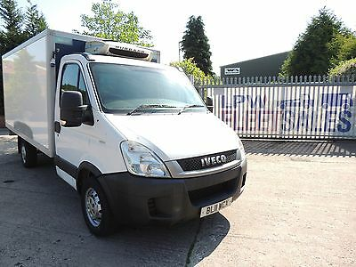 2011 IVECO DAILY 3.5T MWB FULL FRIDGE BOX VAN - ref - WCX