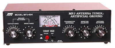 MFJ-934 Combined Manual Tuner & Artificial Ground