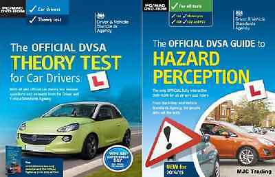 Official DVSA DVLA Complete Theory Test CD PC DVD ROM Hazard Perception 2 DISC