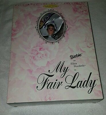 Brand New 1995 Barbie as  Eliza Doolittle in My Fair Lady Collector Edition