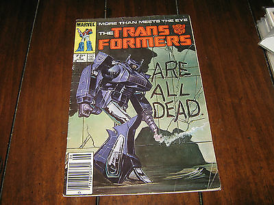Transformers # 5 (1985) FN - Marvel - First Series -