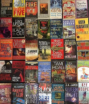 16 Mystery Thriller Fiction Paperbacks Popular Female Authors Instant Collection