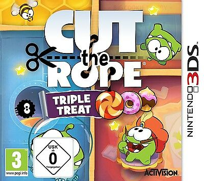 Nintendo 3DS Cut The Rope Trilogy Neu&OVP