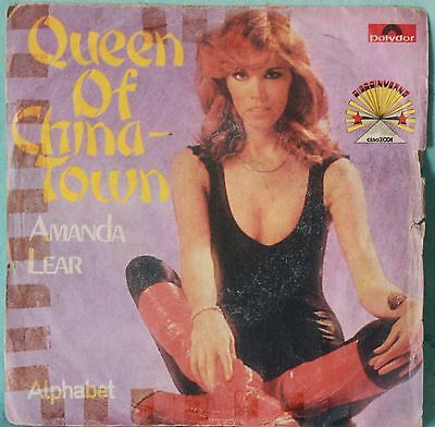 """Amanda Lear – Queen Of China-Town - VINILE 7"""""""