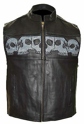 935 Men's Reflective Skull Vest 4XL & 5XL