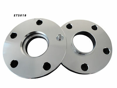 HUB CENTRIC WHEEL SPACERS ADAPTERS | 5X112 | 57.1 CB | 15MM SPACER (2x)