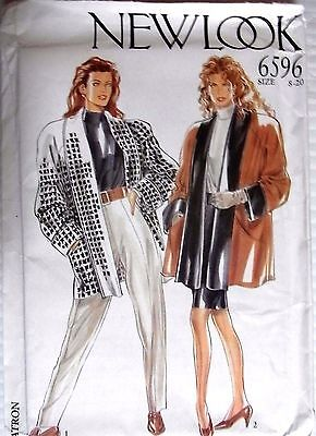 New Look sewing pattern no. 6596 ladies Jacket size 8-20 new