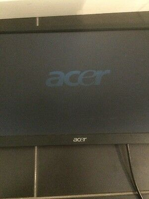 acer moniter 203H LCD tv with bracket 44cm wide 17 inches