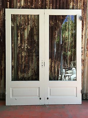 Timber French Doors With Glass 1635w X 2035h