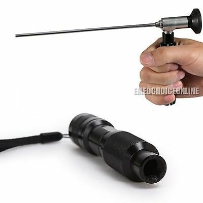 10W Portable Handheld LED Cold Light Source connector fit STORZ WOLFENDOSCOPE