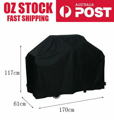 Large 4 Burner Hooded BBQ Cover Protector barbecue grill waterproof outdoor170cm