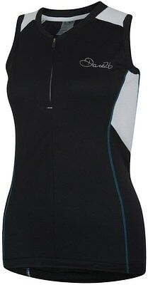 Dare2B Womens Fervor Cycling Vest 16 Black