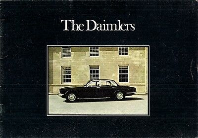 Daimler Sovereign & Double Six Series 2 1974-75 UK Market Sales Brochure XJ
