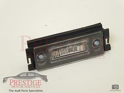 Audi A2 Rear Number Plate Light Fits Either Side New Genuine  8Z0943021