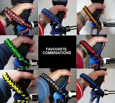 "Archery Bow Sling  ""the Blue Collection"" -  Uk Made Bowsling / Wrist Sling"