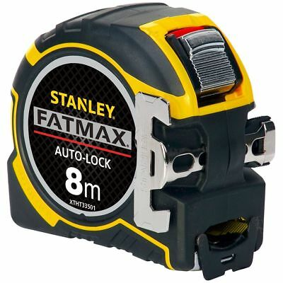 Stanley XTHT0-33501 Fatmax Autolock Tape Measure - 8m (Metric Only)
