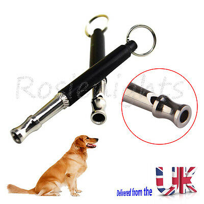 Pet Dog Ultra Sonic Supersonic Sound Pitch Silent Puppy Command Training Whistle