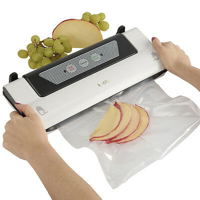 Koolle Food Kitchen Vacuum Sealer Packing Bag Machine 3m Roll Included