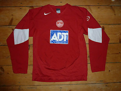 small ABERDEEN FC Football Shirt 2004 LS Soccer Jersey Scottish #Dons Nike ADT
