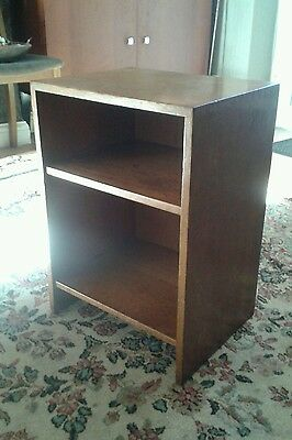BEDSIDE CABINET 1950s   POST WW2 VINTAGE MID CENTURY MODERN. AIR MINISTRY