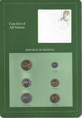 Coin Sets Of All Nations - Senegal - Very Scarce