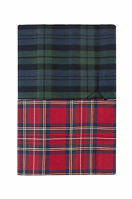 Mens 2 Pack Viyella Chequered Cotton Handkerchiefs