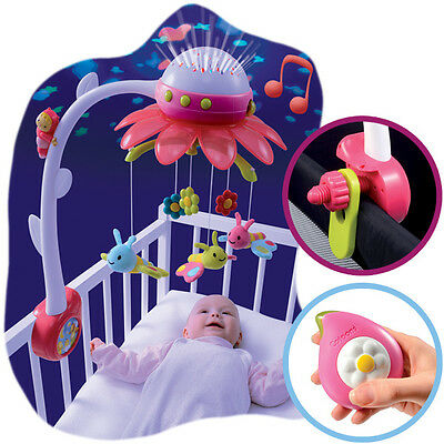 Carousel Projector With The Beds * Music Box + Remote Smoby