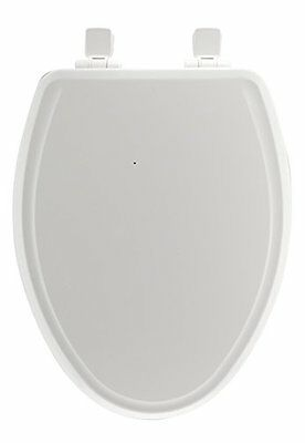 Mayfair 148SLOWA 000 Slow-Close Molded Wood Toilet Seat featuring Whisper-Close,