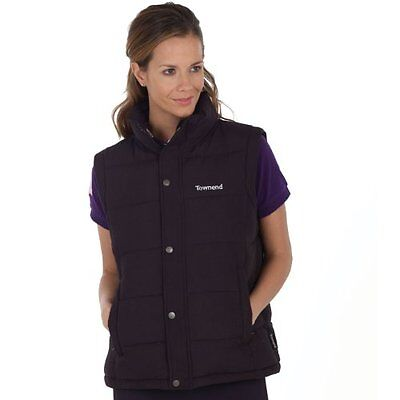 Townend Quest Unisex Padded Gilet - Black - X Small - Horse Equestrian Gilets