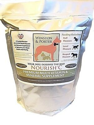 BEST DOG SUPPLEMENT  HIGH SPEC MULTI VITAMIN Unbeatable Price! *UK MANUFACTURER*