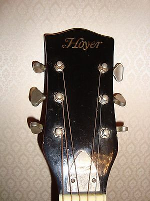 Alte Gitarre Hoyer. Made in Germany