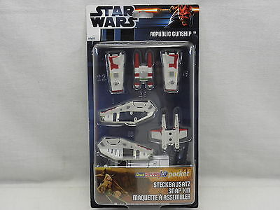 Revell 00655 Easy Kit Pocket Star Wars Republic Gunship Maßstab 1:172