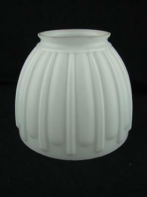 Rare 1930's Genuine Tilley Table Lamp Moulded White Satin Glass Shade