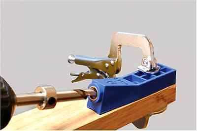 Mini Kreg Jig Kit - Joiners Woodworking Equip Power Tools for furniture repairs