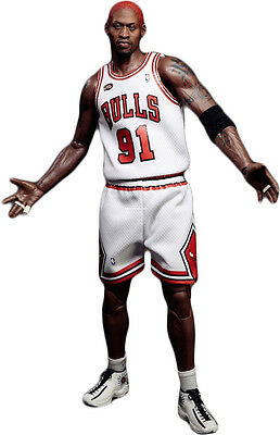 DENNIS RODMAN - 1/6th Scale Real Masterpiece NBA Figure (Enterbay) #NEW