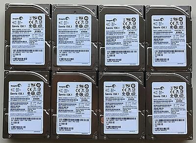 """ST936751SS Seagate 36GB 15K 2.5"""" SAS HDD, ** Lot of 8 **"""