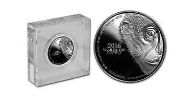 Lunar Silver Coin - Year Of The Monkey 2016