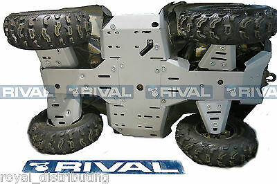 Rival Aluminum Full Skidplate Kit Kawasaki 2012-Up Brute Force 750