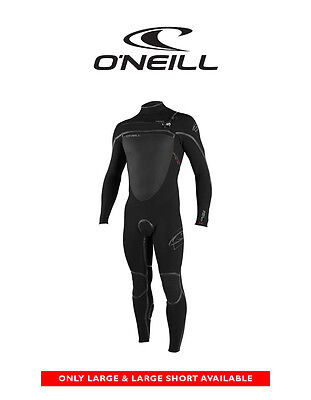 O'NEILL Pyrotech FUZE Mens Sealed 3/2mm Steamer Chest Zip Wetsuit