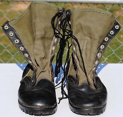 US Issued Jungle Boots 1966 Dated, Size 7R