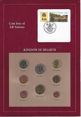 Coin Sets of All Nations - Belgium, Euro