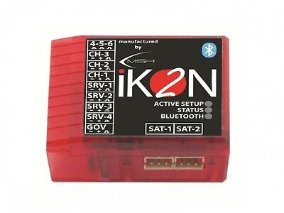 iKON2 Flybarless System with Integrated Bluetooth Module  iKON2002