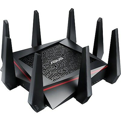 Asus RT-AC5300 5300Mbps Tri-Band WiFi Wireless MU-MIMO Gaming Gigabit Router