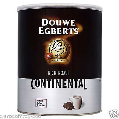 Douwe Egberts Rich Roast Continental Instant Coffee Granules 750g (Tin)