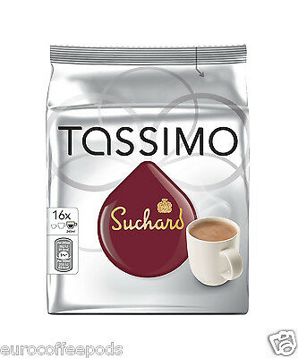 Tassimo Suchard Hot Chocolate 16 T-Discs 16 Drinks