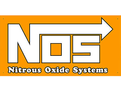 Advertising Display Banner for Nos Nitrous Oxide System Sales Service Parts