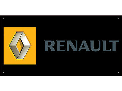 Advertising Display Banner for Renault Sales Service Parts
