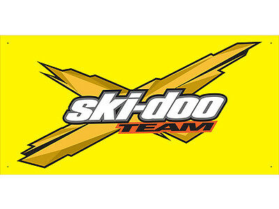 Advertising Display Banner for Ski Doo Sales Service Parts